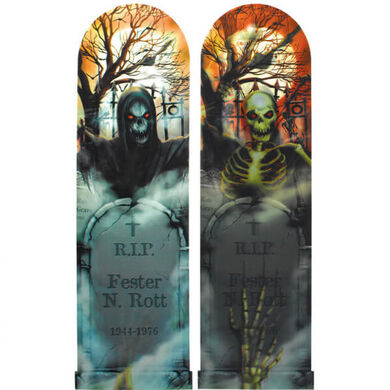 3D plakát Duch hřbitova