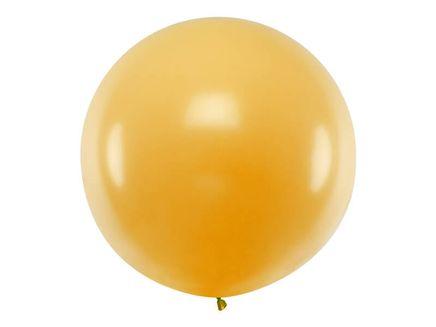 Balónek velký metalický zlatý