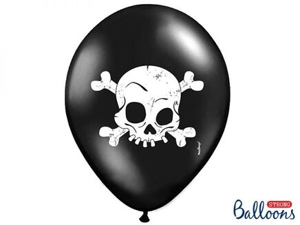 Balónky Lebka