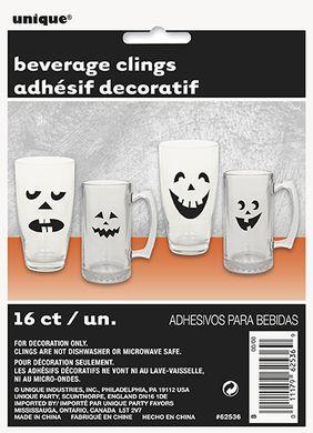 Nálepky na sklenici Halloween
