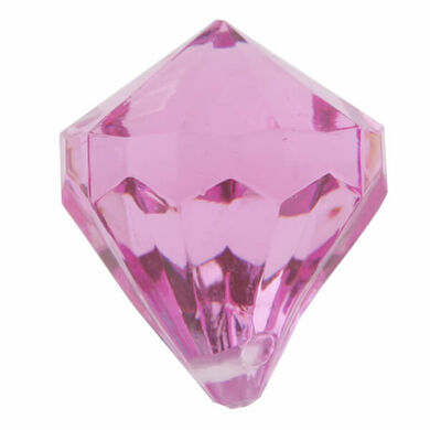Dekorační diamanty fuchsia
