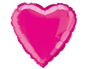 Fóliový balónek srdce hot pink