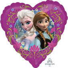Fóliový balónek srdce Frozen