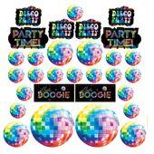 Dekorační výřezy Disco Fever 70´s