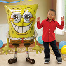 Spongebob air-walker balón