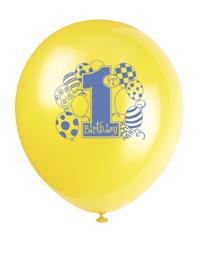 Balóny 1.narozeniny chlapeček
