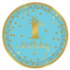 1. narozeniny modré