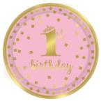 1. narozeniny růžové