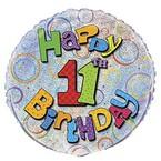 11. narozeniny