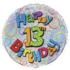 13. narozeniny