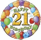 21. narozeniny