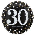 Fóliové balónky narozeninové s číslem