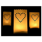 Svíčky, sáčky na svíčky