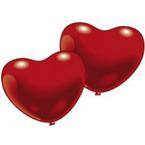 Srdcové balónky latexové