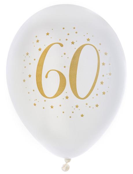 "Balónky ""60"" zlaté"