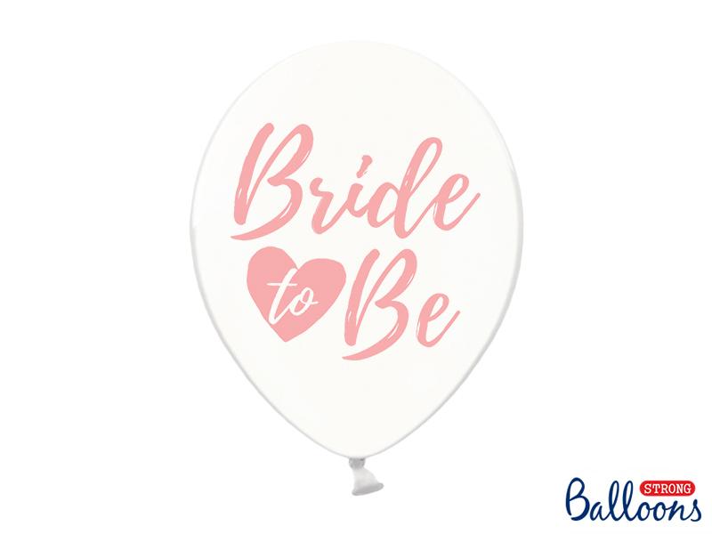 Levně Balónky Bride to Be růžové
