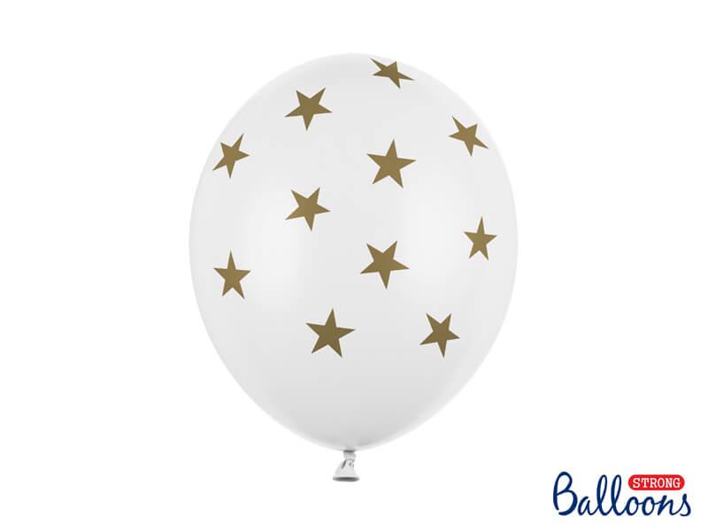 Balónky Stars zlaté