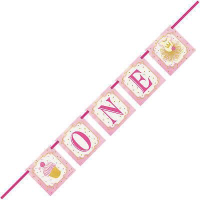 Levně Banner 1. narozeniny Princess