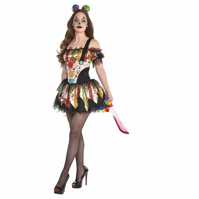 Dámský kostým Klaun L