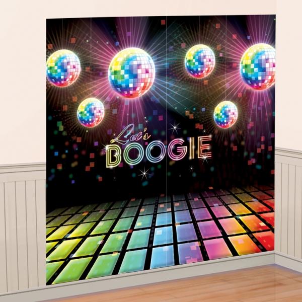 Dekorace na zeď Boogie
