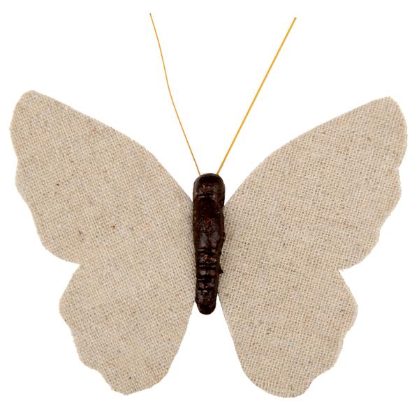 Dekorace s klipem Motýl