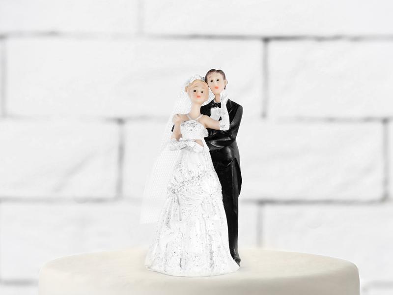 PartyDeco Svatební figurka Novomanželé