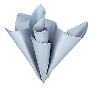 Levně Dekorační hedvábný papír stříbrný