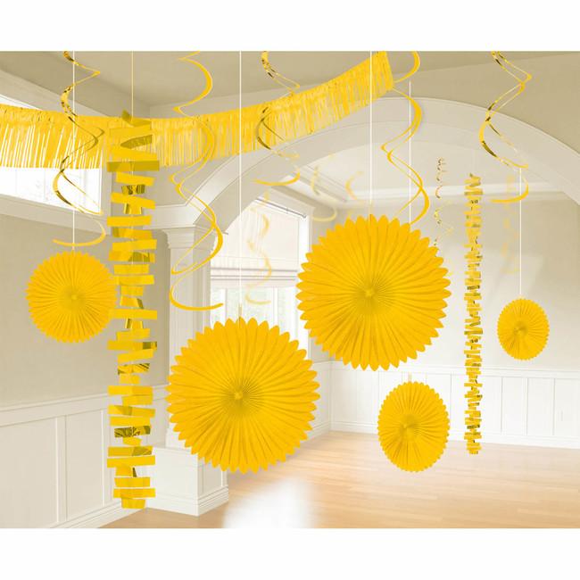 Levně Dekorační set místnosti žlutý