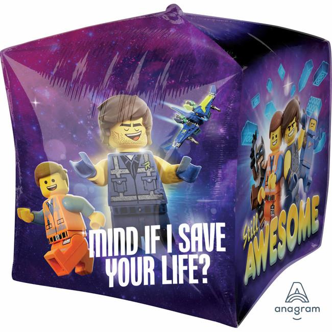 Fóliový balónek kostka LEGO příběh 2