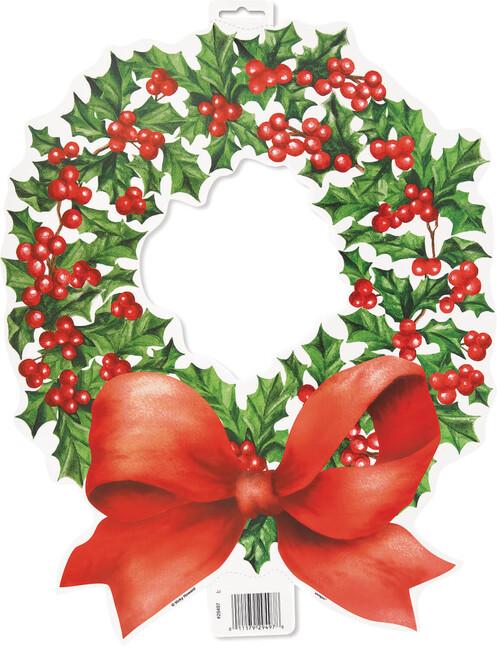 Dekorační výřez Vánoční girlanda