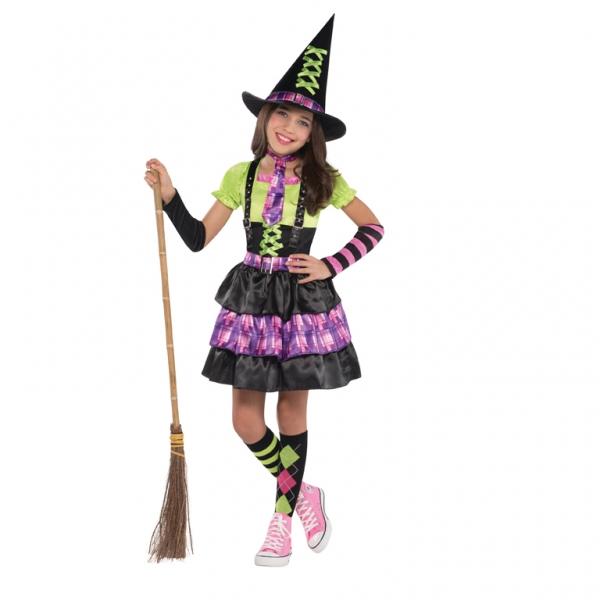 Kostým Čarodějnice 8-10 let