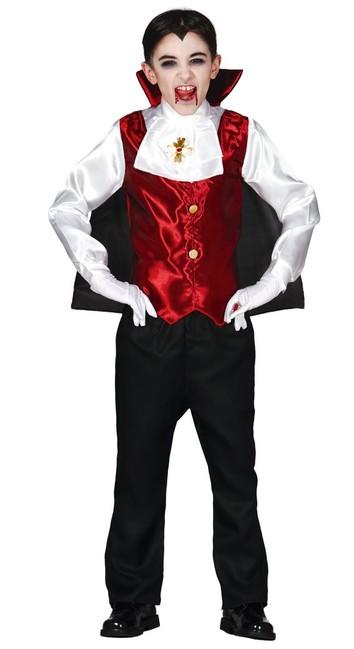 Levně Kostým Drakula 7-9 let