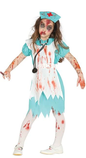 Kostým Krvavá Sestřička 7-9 let