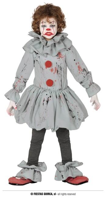 Kostým krvavý klaun 7-9 let
