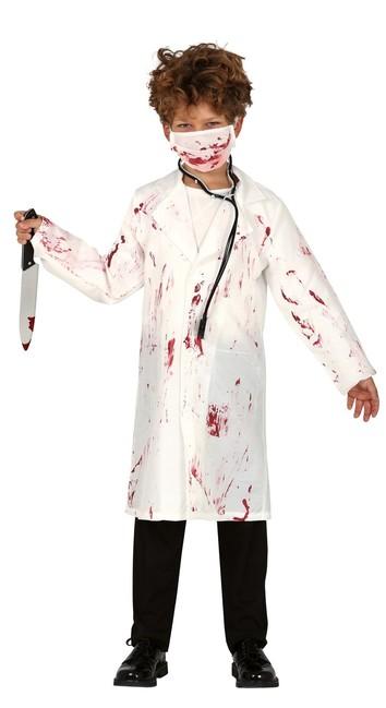 Kostým Krvavý lekár 7-9 let