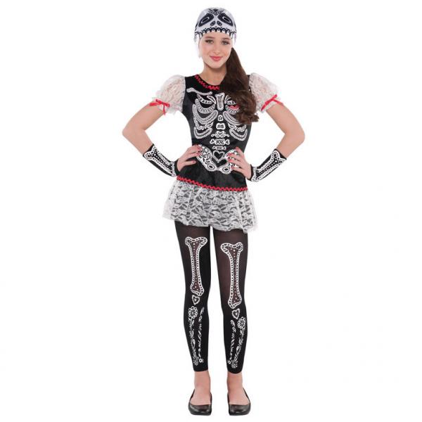 Kostým Skeleton 8 - 10 let