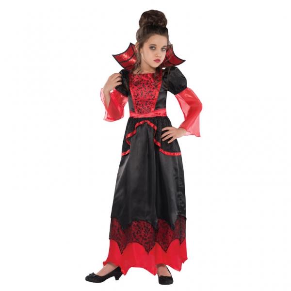 Kostým Vampír girl 8-10 let