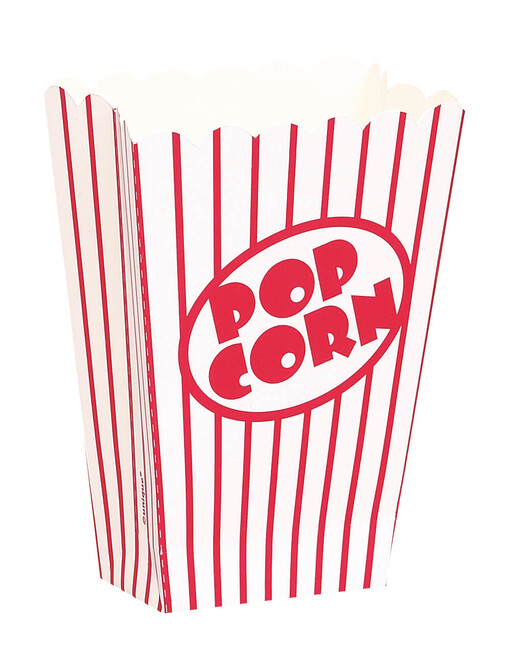 Popcornové krabice malé