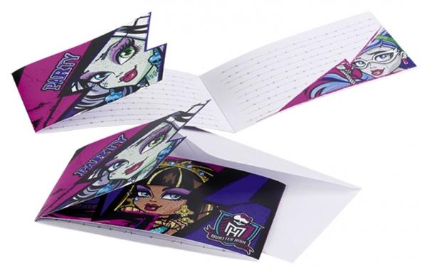 Pozvánky Monster High