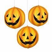 3D lampiony Halloween