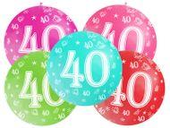 Balónek velký 40. narozeniny