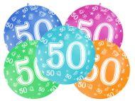Balónek velký 50. narozeniny