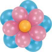 Balónková dekorační sada Flower