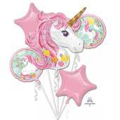 Balónková kytice Kouzelný jednorožec
