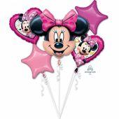 Balónková kytice Minnie Happy Helpers