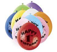 Balónky 1. narozeniny