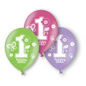 Balónky 1.narozeniny B-day Girl