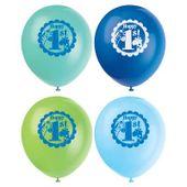 Balónky 1.narodeniny blue Safari