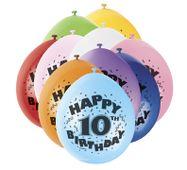Balónky 10. narozeniny