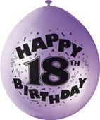 """Balónky """"18"""" Brilliant birthday"""